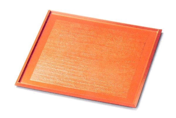 9.0 角小膳 錆漆 漆塗り ランチョンマット