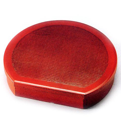 半月弁当箱  布目(製造中止) 木製 木のランチボックス