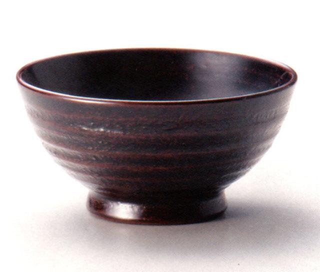 飯椀(小) 地の粉 木製 漆塗り 木のご飯茶碗 10-03304 10-03305