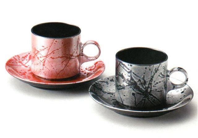 コーヒーカップセット フロー