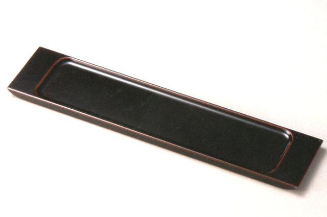 16.0 もてなしトレー 【送料無料】 木製 漆塗り 中皿 10-10204 10-10203