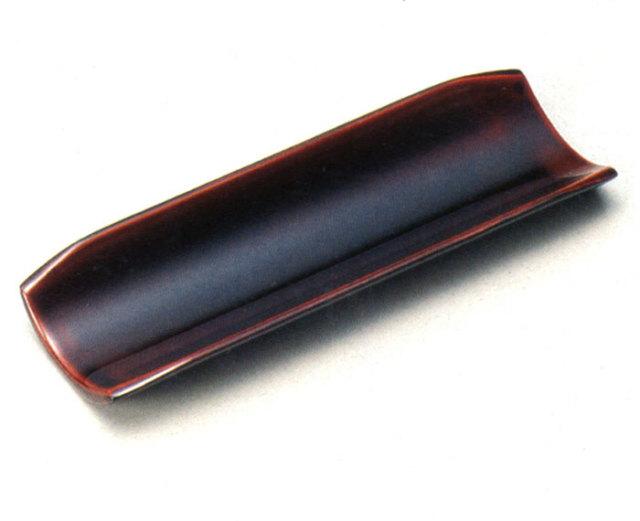 おしぼり受け 溜 5枚セット(製造中止) 木製 漆塗り
