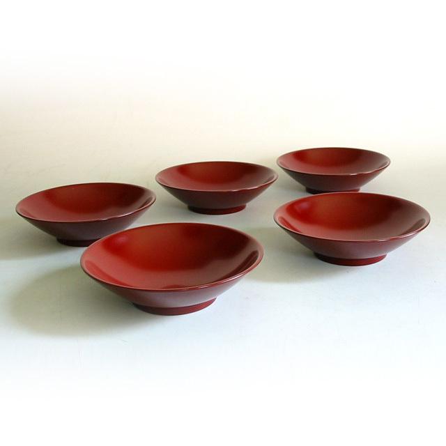 お好み皿揃え 漆塗り 取り皿・小皿