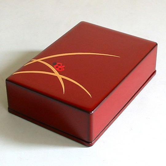 名刺箱 縁起漆絵 名刺ケース・名刺入れ 漆塗り