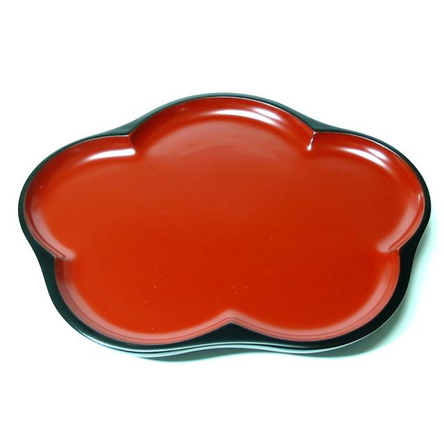横梅鉢(製造中止) 特別価格 木のお皿 木製 漆塗り 中皿