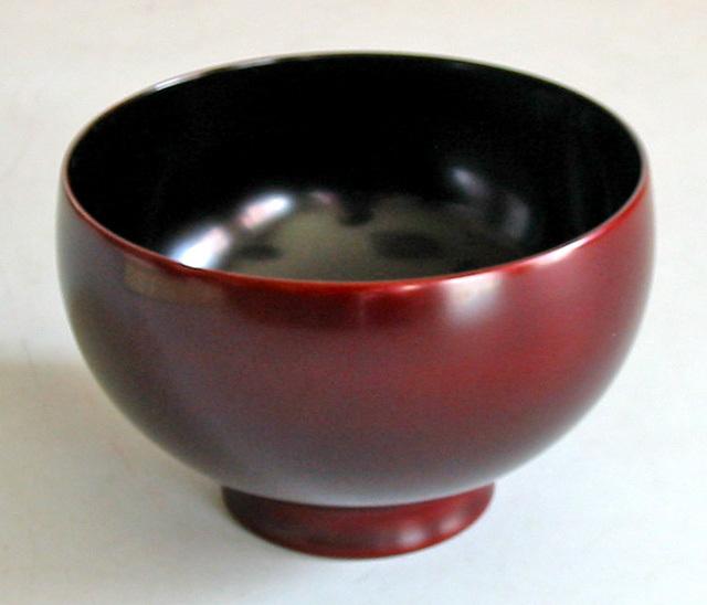 ひな椀 桜 (製造中止) 木製 漆塗り 木のお椀・味噌汁椀