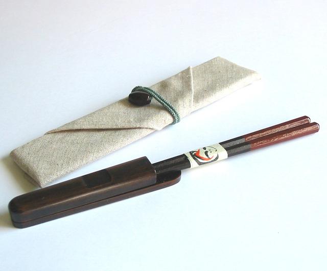 マイ箸セット(製造中止) 木製 漆塗り カトラリー