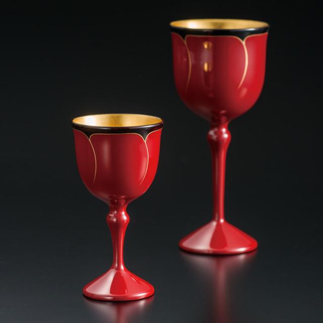 ワインペアカップ 花ライン
