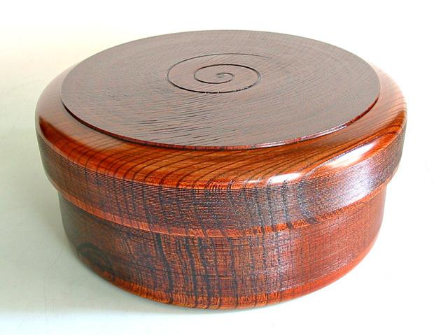 茶櫃 欅 千筋摺り (製造中止) 木製 漆塗り
