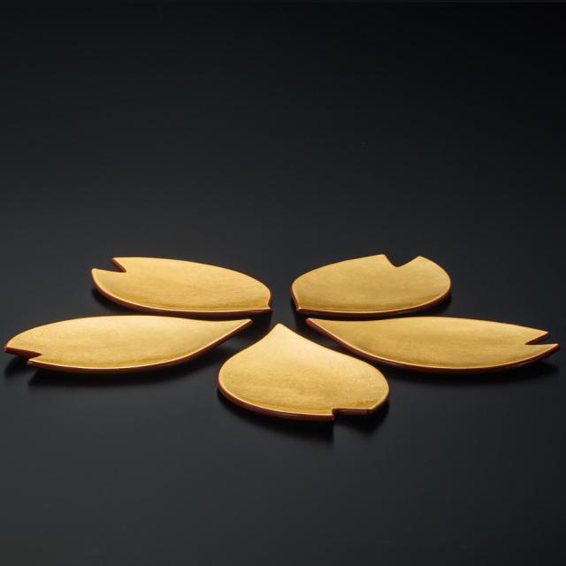 花びら銘々皿