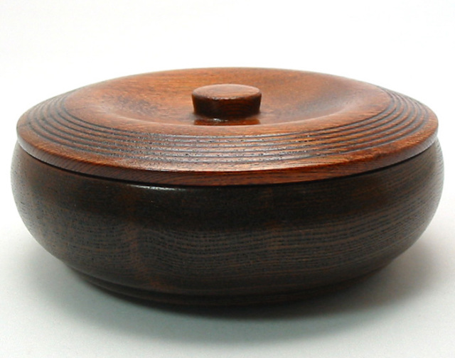 菓子器 すり 浅型(製造中止) 木製 漆塗り 中鉢