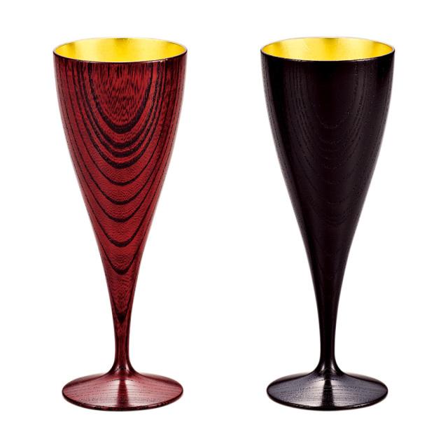 ワインペアカップ 響樹 内金箔