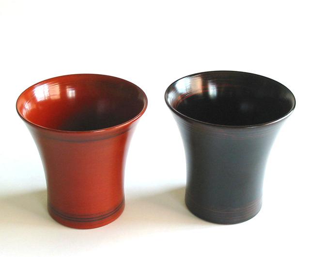 背高焼酎カップ (製造中止)木製 漆塗り