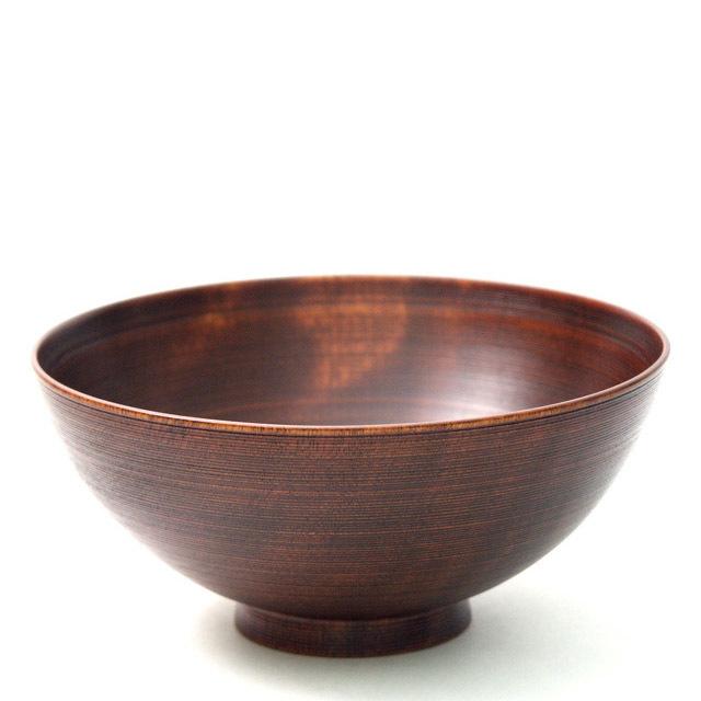 富貴漆椀 5.5寸 木製 漆塗り 大椀・麺鉢・丼鉢