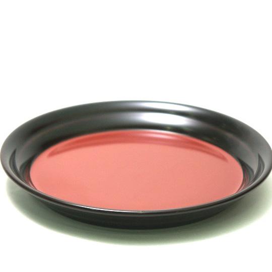 銘々皿 溜 日の出 5枚セット【送料無料】 木製 漆塗り 取り皿・小皿