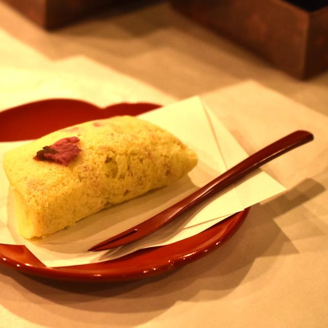 和菓子切りフォーク