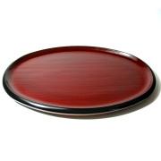 小判盆 布目 木製 漆塗り トレー