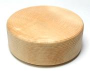木製丸ランチボックス 仕切り付き 木の弁当箱