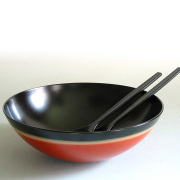 サラダボウル 夢ぼかし 【製造中止】 漆塗り 中鉢