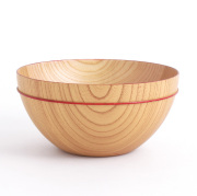 MOKU ボウル D  木製の大鉢 サラダボウル どんぶり 麺鉢