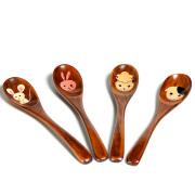 干支スプーン 【メール便可】 木製 漆塗り カトラリー