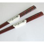 箸 ハート型 【メール便可】 木製 漆塗り カトラリー