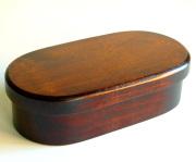 うるし小判弁当箱(製造中止) 木製 漆塗り 木のランチボックス