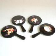 アニマル姫鏡 【メール便可】 携帯用手鏡 外国人へのお土産