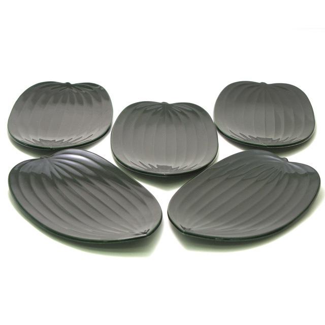 笹波銘々皿 緑 取り皿・小皿