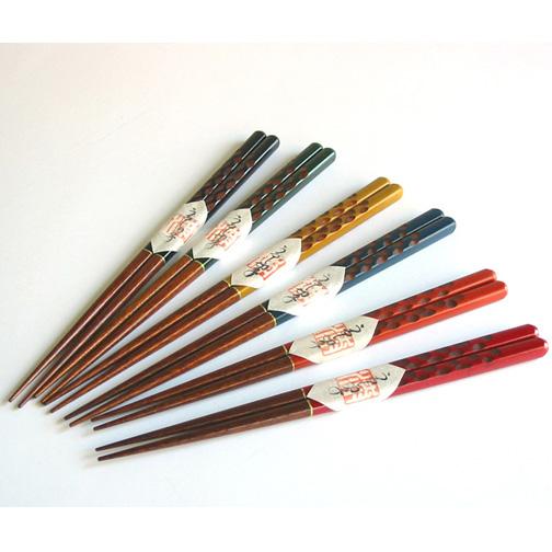 箸 漆切子 【メール便可】 木製 漆塗り カトラリー