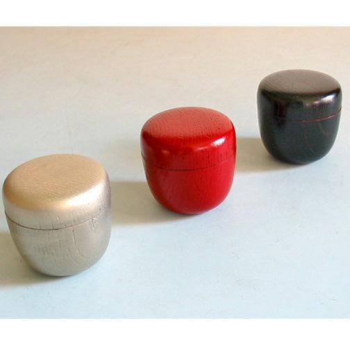 かぶき棗 木製 漆塗り お茶道具
