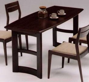 Horus-ホルス-WJ5050 ダイニングテーブル 木製  幅150x奥行70x高さ70cm アッシュ無垢 2本脚 数量限定 アウトレット 送料無料
