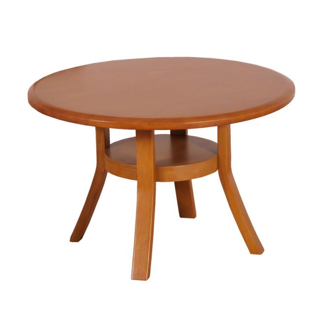 Coupe-クーペLB- ダイニングテーブル ラバーウッド ライトブラウン 円型 数量限定 送料無料