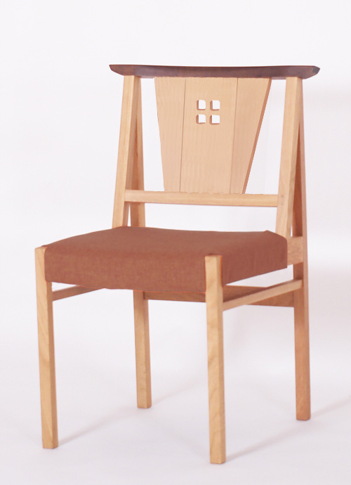 OAK-オーク- ローレル ダイニングチェア 木製 オーク材 ナチュラル 張地 PVC  数量限定 送料無料