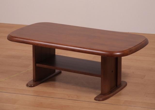 Sadi-D ローテーブル センターテーブル 3サイズ ラバーウッド材 ダークブラウン 数量限定 送料無料