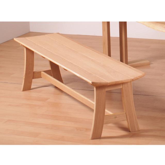 OAK-オーク- ダイニングベンチ 木製 オーク材 165cm アウトレット 数量限定 送料無料