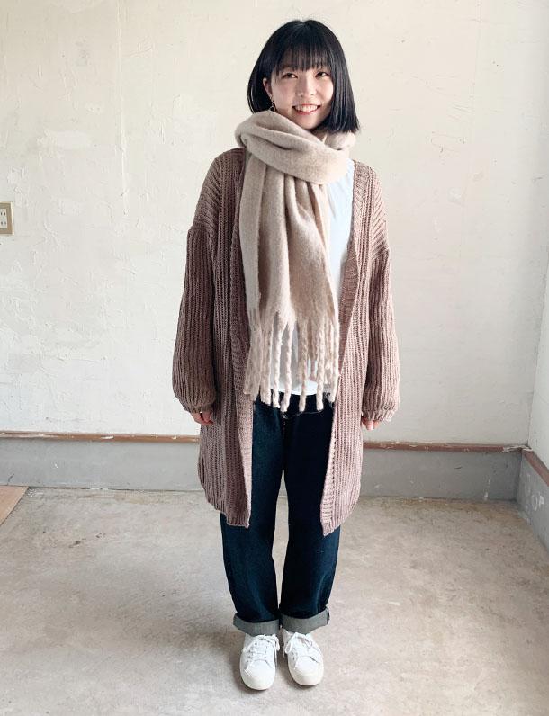 【新春数量限定特別セール品】『 ざっくりボリュームが逆に可愛いと話題のロングカーデ・・・ 』 ニットガウン!ニットロングカーデ登場!ざっくり編みが毎年人気。