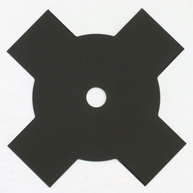 """ソーマスター """"切込4枚刃 黒""""刈払機用丸鋸刃 255×4枚刃 :KYK4<KYK・関西洋鋸>"""