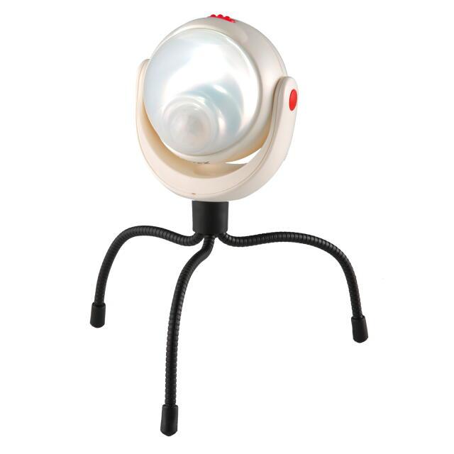 RITEX 調色調光LEDどこでもセンサーライト(防雨型):ASL-095<ライテックス・ムサシ>