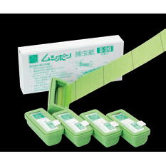 ムシポンカートリッジ(捕虫紙) 緑 5個入り S-20 <朝日産業>