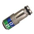 MUST TOOL SEMI(セミ) ワンタッチソケット 40V対応 ダブルインスライド 17×21mm 差込角12.7mm 12角  4WS1721I-12K:No.19920<イチネンミツトモ>
