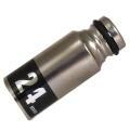 MUST TOOL SEMI(セミ) ワンタッチソケット 40V対応 シングル 24mm 差込角12.7mm 12角  4WS24-12K:No.19923<イチネンミツトモ>