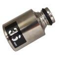 MUST TOOL SEMI(セミ) ワンタッチソケット 40V対応 シングル 36mm 差込角12.7mm 6角  4WS36-6K:No.19930<イチネンミツトモ>