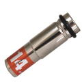 MUST TOOL SEMI(セミ) ワンタッチソケット 40V対応 シングル 14mm 差込角12.7mm 6角  4WS14-6K:No.19932<イチネンミツトモ>