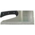 【送料、代引手数料無料】 別型麺切包丁 黒合板柄 -切れ者- :330mm A-0020