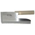 【送料、代引手数料無料】 ステンレス鋼麺切包丁 (左利き用) -切れ者-  :270mm  A-1042