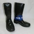ノキサス ゴム長靴(ワークブーツ) 軽半長 黒 ;EK-701<NOXUS>