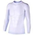 おたふく 冷感・消臭パワーストレッチ長袖クルーネックシャツ ホワイト :JW-623  <おたふく手袋>