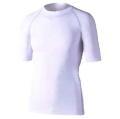 おたふく 冷感・消臭パワーストレッチ半袖クルーネックシャツ ホワイト :JW-628<おたふく手袋>