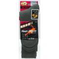 おたふく BTサーモソックス フットパイル先丸 グレー(2足組)×5セット :JW-134×5 <おたふく手袋>
